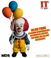 IT 1990 Pennywise Designer Series Deluxe Figure by MEZCO