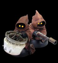 Star Wars Jawa Twin Pack (A New Hope) Mini Busts by Gentle Giant.