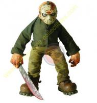 Cinema Of Fear Series 1 Roto Plush Jason Voorhees Figure by MEZCO.