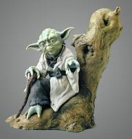 "Star Wars Yoda EP 5 ""Snap Fit"" Soft Vinyl 7th Scale Kit by Kotobukiya"