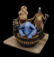 Jabba's Palace Band Max Rebo Statue by Gentle Giant Studios.