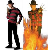 A Nightmare On Elm St Freddy Krueger Wall & Door Decal by Rubie's.
