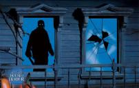 Friday The 13th, Jason Voorhees Window Silhouette Decal by Rubie's.