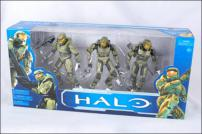 HALO Anniversary Series 1 Master Chief Evolution 3 Pack