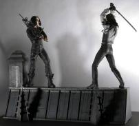 The Crow Eric Draven Rooftop Battle Box Set by NECA