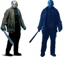 Friday The 13th, Jason Voorhees Wall & Door Decal by Rubie's.