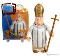 "Family Guy Series 3 Figure ""The Pope"" by MEZCO."