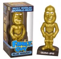 Family Guy Blue Harvest Quag-3PO Bobble Head Knocker by FUNKO