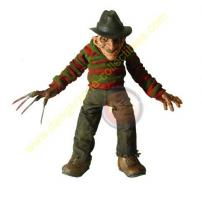 Cinema Of Fear Series 1 Roto Plush Freddy Krueger Figure by MEZCO.