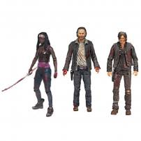 The Walking Dead TV Series Heroes Deluxe Box Set by McFarlane.