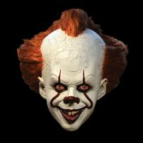 IT Pennywise Deluxe Edition Full Overhead Mask by Trick Or Treat Studios