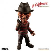 A Nightmare On Elm Street 3 Dream Warriors Freddy Krueger Designer Series Deluxe Figure by MEZCO.