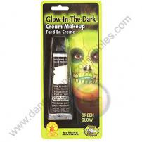 Special F/X Theatrical Base Cream Paint Glow In The Dark Green by Rubie's.