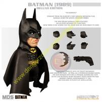Batman 1989 Designer Series Deluxe Figure by MEZCO.
