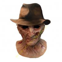 A Nightmare On Elm Street 4 Freddy Krueger Full Overhead Mask & Hat by Trick Or Treat Studios
