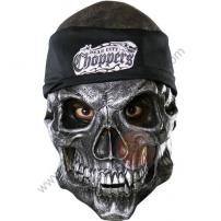 Dead City Choppers Road Rage 3/4 Vinyl Mask by Rubie's