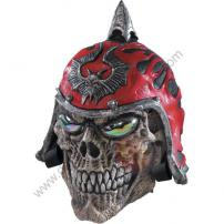 Dead City Choppers Demon Rider Skull Deluxe Latex Mask by Rubie's
