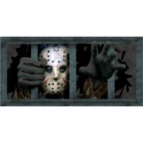 Friday The 13th Jason Voorhees Wall Grabber Decal by Rubie's.
