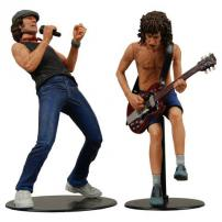 AC DC Angus Young & Brian Johnson 7 inch Action Figure Set by NECA.