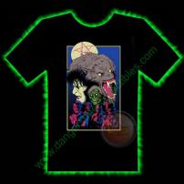 American Werewolf In London Horror T-Shirt by Fright Rags - SMALL