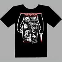 "Friday The 13th ""Ari Lehman"" Horror T-Shirt by Rotten Cotton."