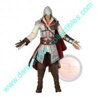 Assassin's Creed II Ezio Action Figure in White Outfit by NECA