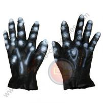 Black Adult Soft Skin Rubber Monster Hands by Rubie's