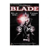 Blade Wesley Snipes Movie Poster