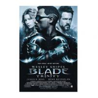 Blade Trinity Wesley Snipes Movie Poster