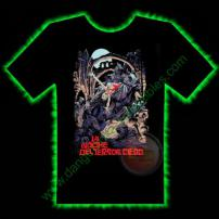 Blind Dead Horror T-Shirt by Fright Rags - EXTRA LARGE