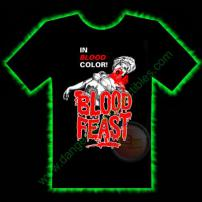 Blood Feast Horror T-Shirt by Fright Rags - LARGE