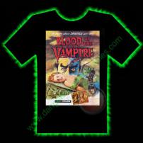Blood Of The Vampire Horror T-Shirt by Fright Rags - LARGE