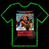 Bloodthirsty Butchers Horror T-Shirt by Fright Rags - MEDIUM