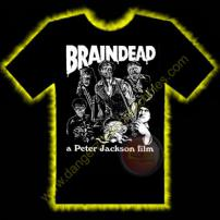 Braindead Horror T-Shirt by Rotten Cotton - LARGE