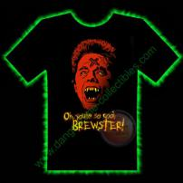 Brewster Horror T-Shirt by Fright Rags - LARGE