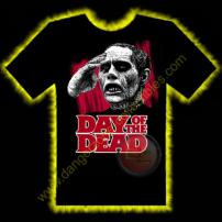 Day Of The Dead Bub Horror T-Shirt by Rotten Cotton - LARGE