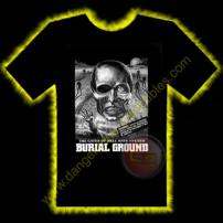 Burial Ground Horror T-Shirt by Rotten Cotton - EXTRA LARGE