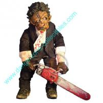 Cinema Of Fear Series 2 Roto Plush Leatherface Figure by MEZCO.
