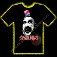 Captain Spaulding House Of 1000 Corpses Horror T-Shirt by Rotten Cotton - LARGE