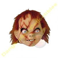 Chucky Deluxe Adult Latex Mask (Scarred Version).