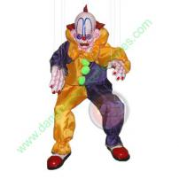 Scarabelle Clown Marionette by Bump In The Night Productions.