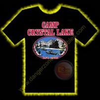 Friday The 13th Camp Crystal Lake Horror T-Shirt by Rotten Cotton - LARGE