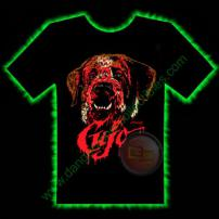 Cujo Horror T-Shirt by Fright Rags - LARGE