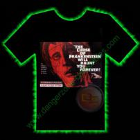 Curse Of Frankenstein Horror T-Shirt by Fright Rags - MEDIUM