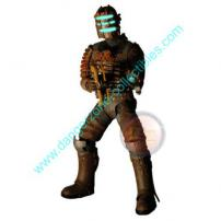 Dead Space Isaac Figure with Plasma Cutter by NECA.