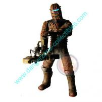 Dead Space Isaac Figure with Ripper Saw by NECA (Bloody Version).