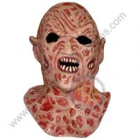 Freddy vs Jason Demon Freddy Krueger Deluxe Latex Mask by Rubie's.