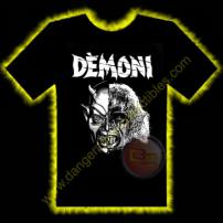 Demoni Horror T-Shirt by Rotten Cotton - LARGE