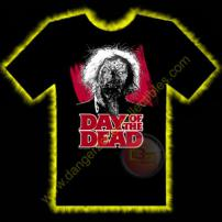 Day Of The Dead Dr Tongue Horror T-Shirt by Rotten Cotton - SMALL