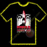 Dread Central Horror T-Shirt by Rotten Cotton - LARGE